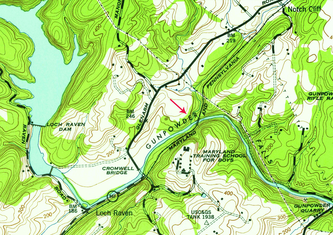 USGS Historic Topographic Maps - The Maryland & Pennsylvania ...